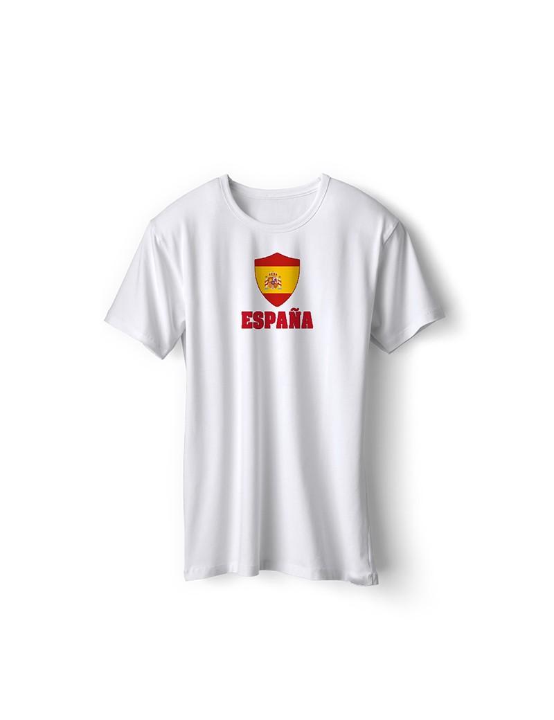 Spain World Cup Center Shield Men's T-Shirt
