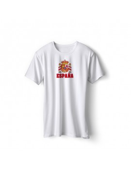 Spain World Cup Center Shield Men's T-Shirt