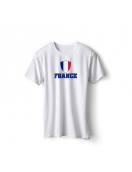 France World Cup Center Shield Men's T-Shirt