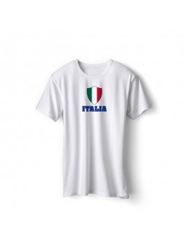 Italy World Cup Center Shield Men's T-Shirt