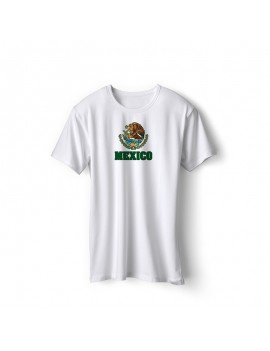 Mexico World Cup Center Shield Men's T-Shirt