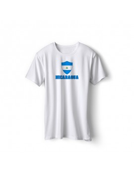 Nicaragua World Cup Center Shield Men's T-Shirt