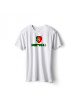 Portugal World Cup Center Shield Men's T-Shirt