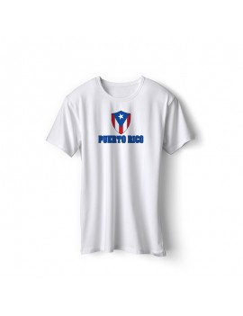 Puerto Rico World Cup Center Shield Men's T-Shirt
