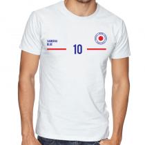 Japan Men's Round Neck  T Shirt Jersey 10 Shield