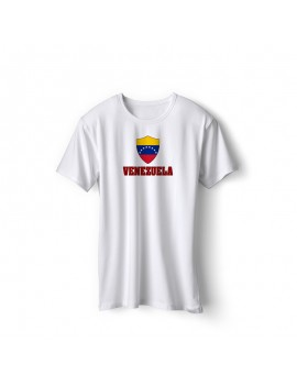 Venezuela World Cup Center Shield Men's T-Shirt