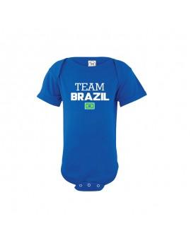 Brasil Team baby Bodysuit...