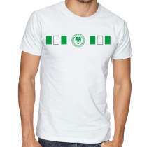 Nigeria Men Men's Round Neck T Shirt Jersey   Shield