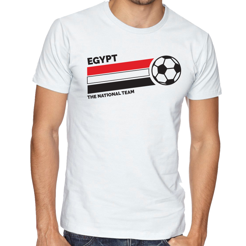 f9ec6bcb4 Egypt Men's Round Neck T Shirt Jersey The national team ball
