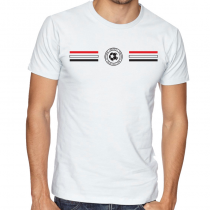 Egypt Men's Round Neck  T Shirt Jersey  Shield
