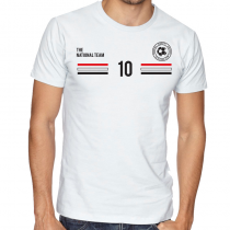 Egypt Men's Round Neck  T Shirt Jersey  10 Shield