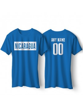 Nicaragua National Pride T-Shirt Nicaragua Libre Style 2 Personalized
