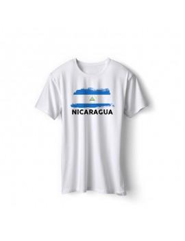 Nicaragua National Pride Country Flag T-Shirt
