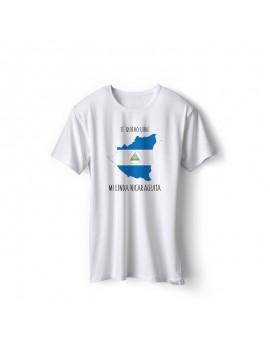 Nicaragua National Pride Te Quiero Libre Nicaragua T-Shirt