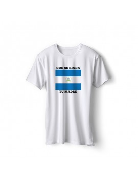 Nicaragua National Pride Que Se Rinda Tu Madre T-Shirt Style 4
