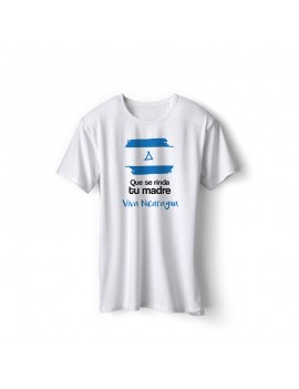 Nicaragua National Pride Viva Nicaragua T-Shirt