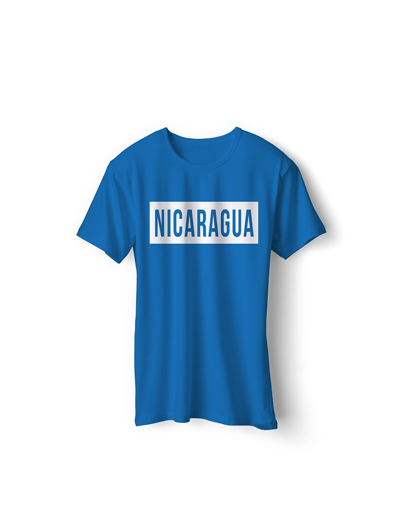 Nicaragua National Pride T-Shirt Nicaragua Libre Style 2