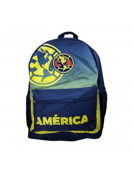 Club America Medium Backpack Blue - FRONT