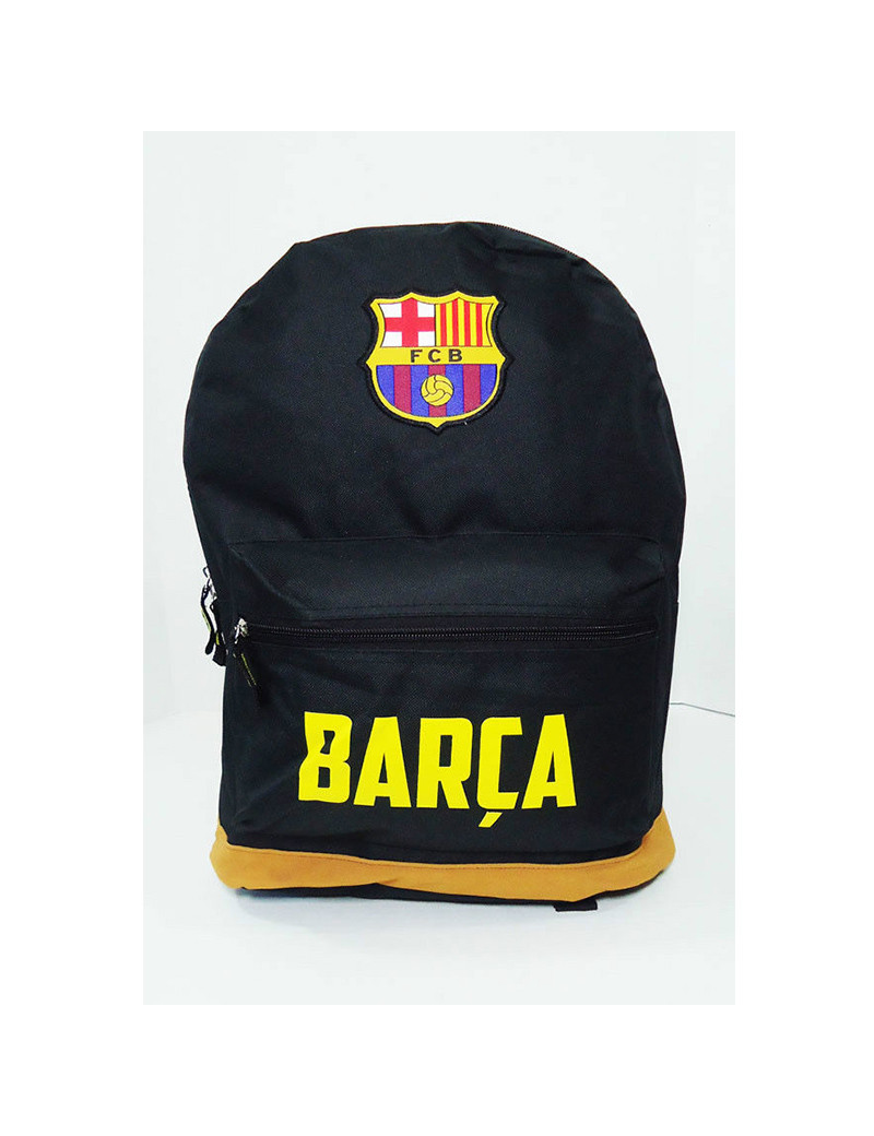 FC Barcelona Black Backpack - FRONT