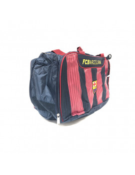 FC Barcelona Red striped Duffelbag - BACK