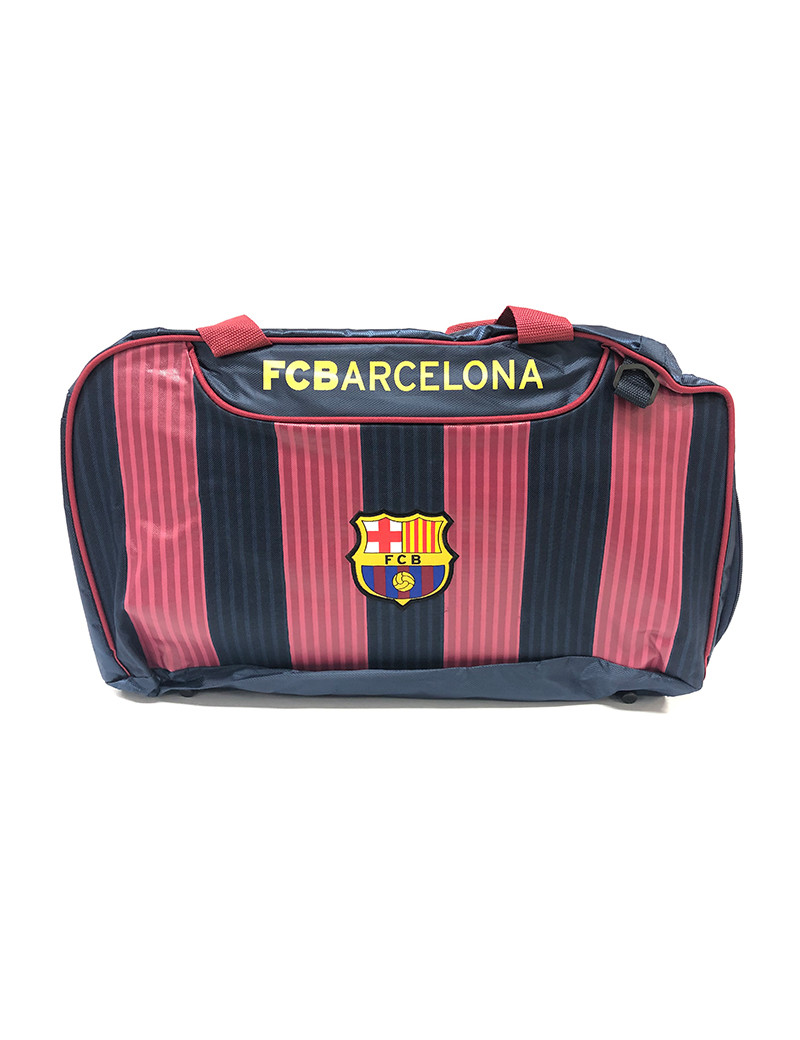 FC Barcelona Red striped Duffelbag - FRONT