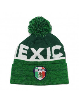 Mexico Dark Green Beanie Country Pride World Cup