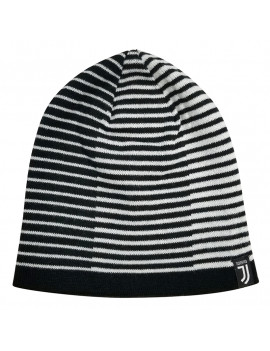 Juventus FC Adult's Beanie Hat Striped Authentic Official