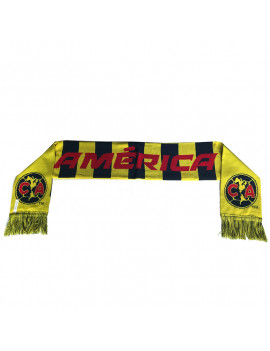 Club America Adult's Scarf Reversible - Right Side