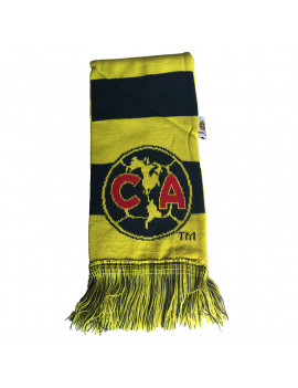 Club America Adult's Scarf Reversible - Front