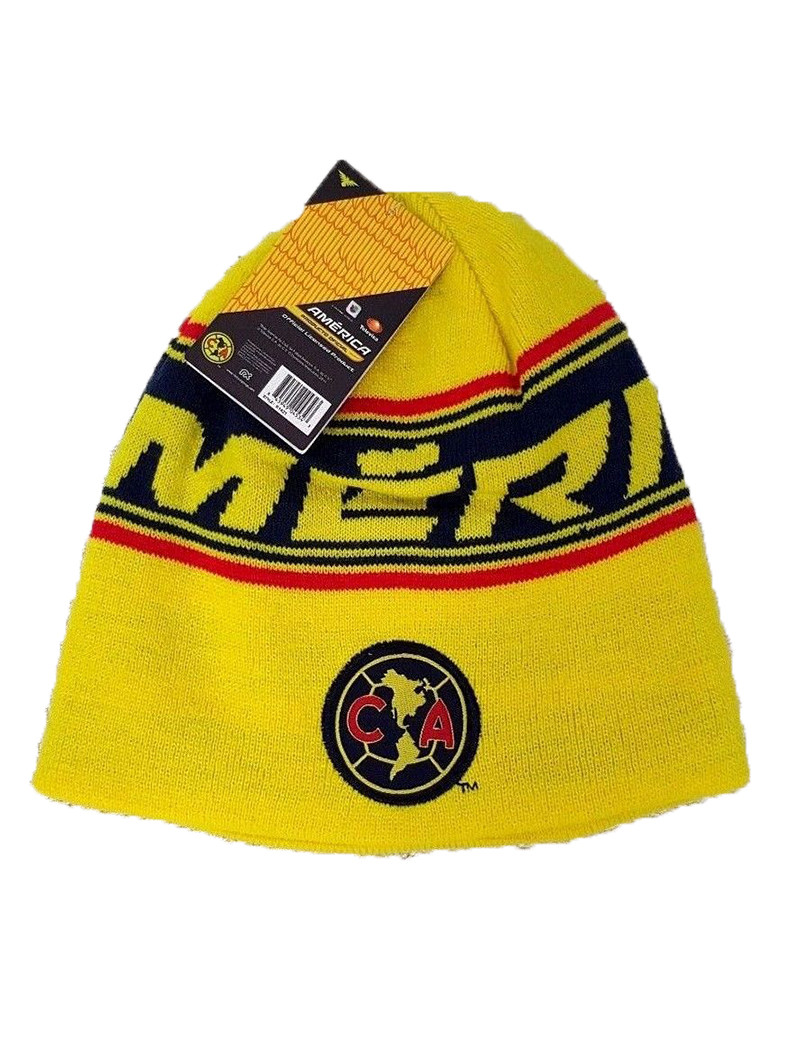 Club America Adult's Beanie Hat - Front