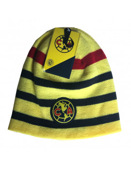 Club America Adult's Beanie Hat Striped Authentic Official