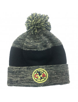 Club America Adult's Beanie Hat Dark Authentic Official