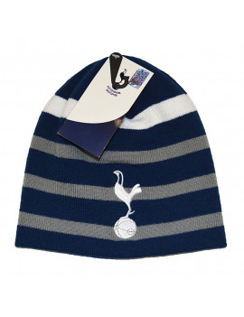 Tottenham FC Adult's Beanie Hat Striped Authentic Official